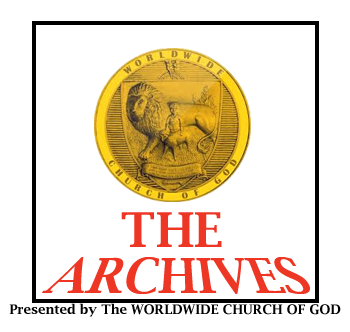 The Worldwide Church of God Archives